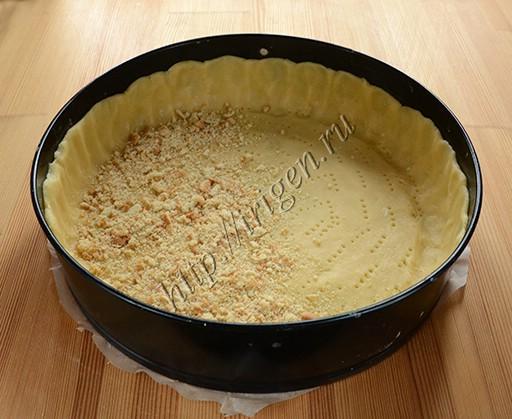 подготовка основы пирога