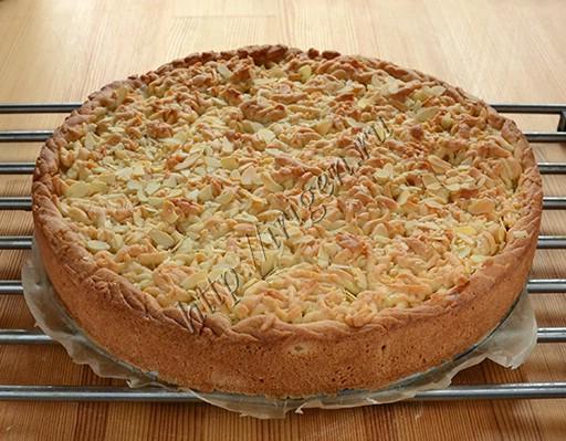 пирог польский с яблоками