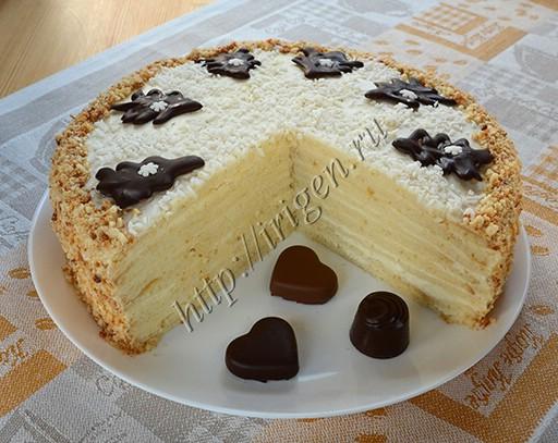 торт сладкая жизнь - разрез