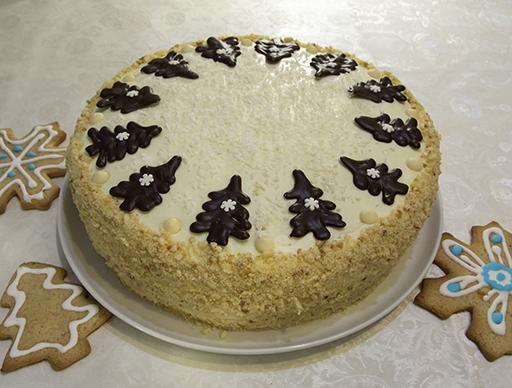 большой торт Сладкая жизнь (диаметром 26 см)