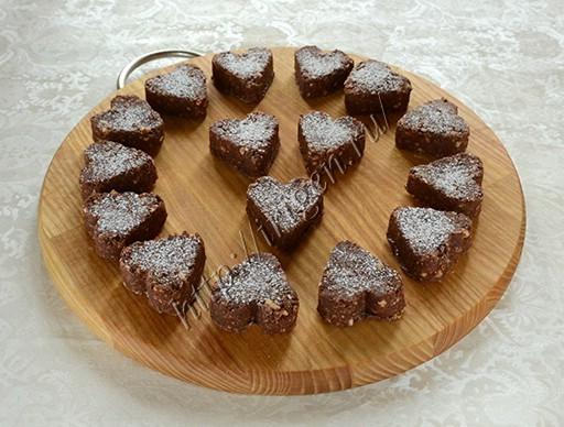 домашние конфеты сердечки