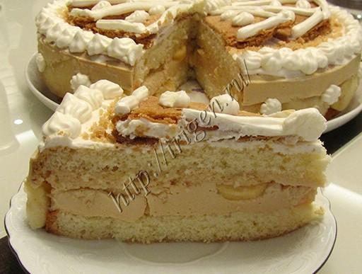 разрез торта райское яблочко