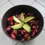 салат полезный с авокадо