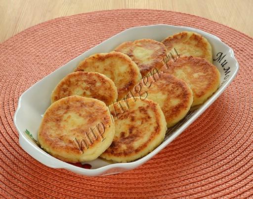 сырники с пармезаном