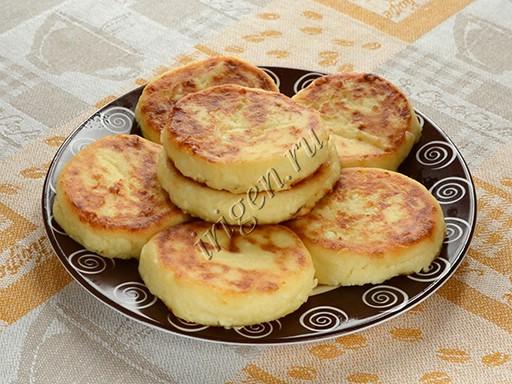 сырники с творожным сыром рецепт 2