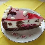 кусочек торта вишневый сад