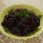краснокочанная капуста с черносливом