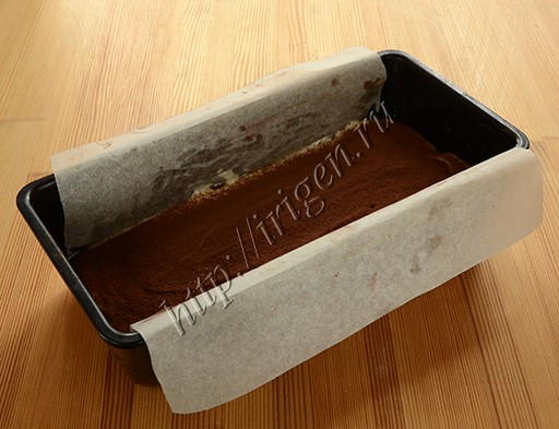 приготовление полосатого творожного кекса