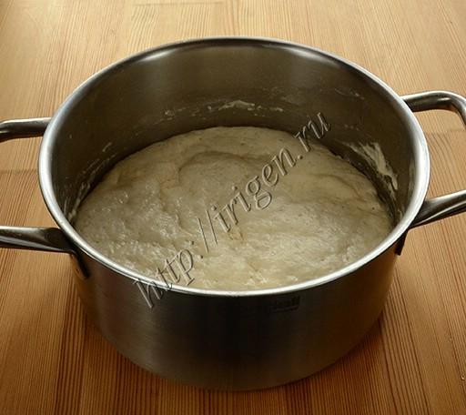 опара для осетинских пирогов