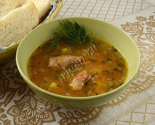 суп с бычками в томате