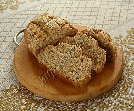 быстрый хлеб с добавлением цельнозерновой муки