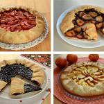галеты с фруктовыми и ягодными начинками