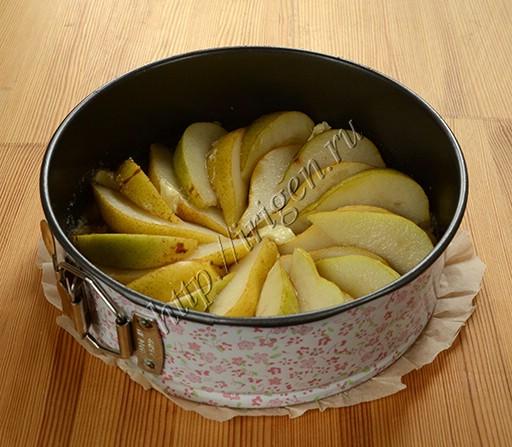 приготовление рикотника с грушами