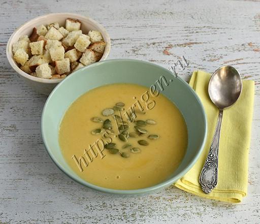 суп-пюре кабачковый диетический