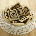 печенье легкое на белках с кунжутом