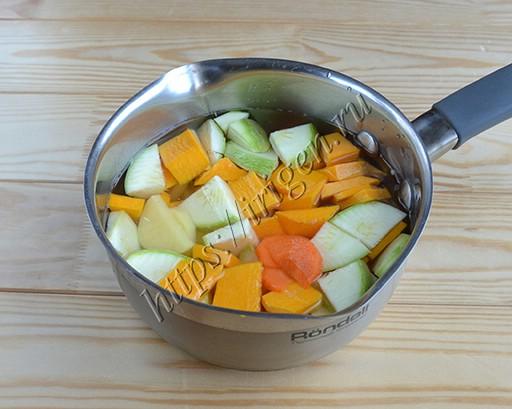 суп-пюре на 2 порции