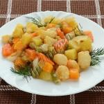 овощное рагу-гарнир