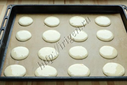 приготовление бисквитных заготовок