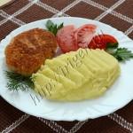 котлеты рыбные с творожным сыром