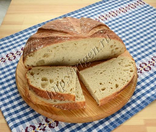 хлеб французский на закваске