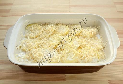 Приготовление картофельного гратена