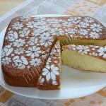 воздушный молочный пирог