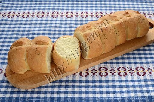 постный хлеб гусеничка
