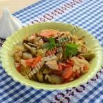 овощной гарнир на сковороде