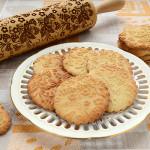 печенье с узором