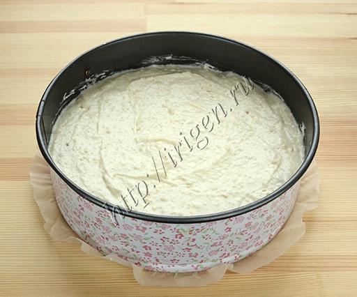 приготовление пирога кокосового на белках