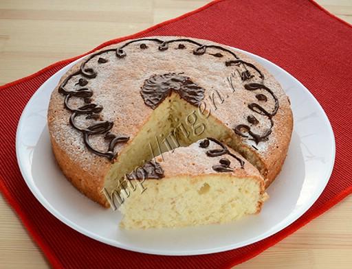 пирог кокосовый на белках