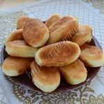 постные пирожки с горохом