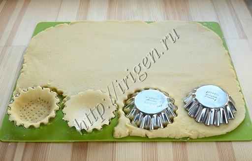 приготовление пирожных корзиночек