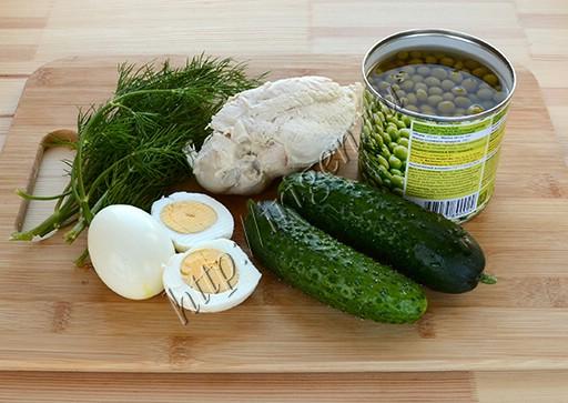 ингредиенты для салата леди