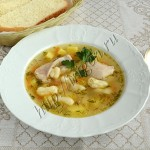 куриный суп с клецками чипетке