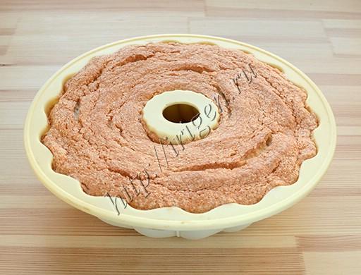 бисквит после выпечки
