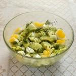 салат с авокадо и молодой капустой