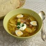 суп из индейки с кабачками