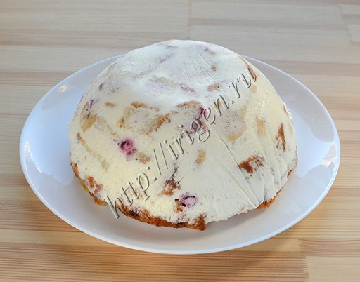 торт после охлаждения