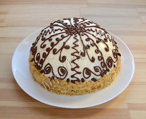 торт из кекса
