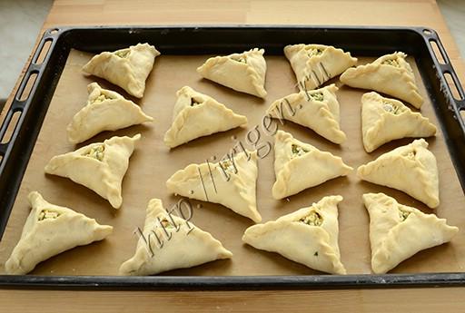 пирожки перед выпечкой