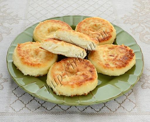 сырники с моцареллой
