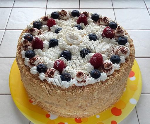 торт снеженика