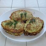 оладьи кабачковые с кус-кусом