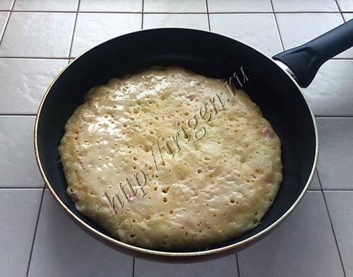 приготовление сырной лепешки комби