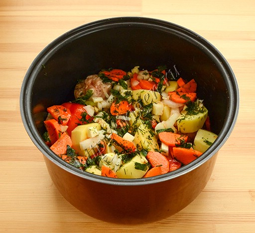 приготовление ассорти из фаршированных овощей