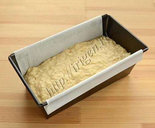 сырный хлеб перед выпечкой