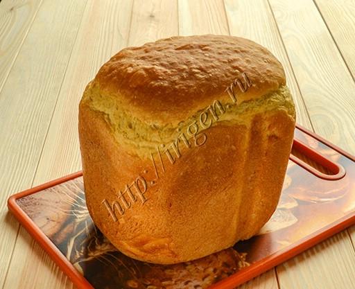 хлеб с рисово-тыквенной кашей