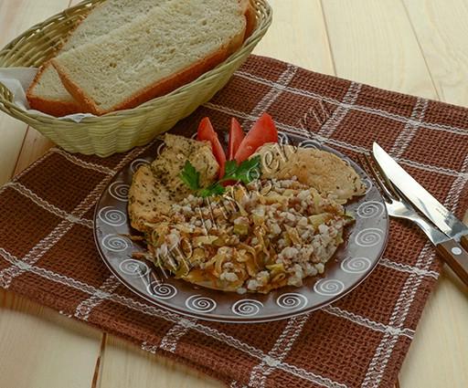 гарнир из гречки и капусты