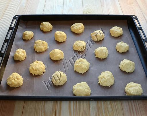 печенье на пудинге